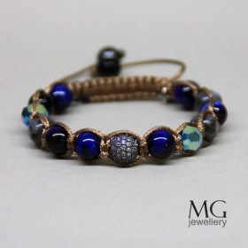 Гривна Shamballa Blue Sunset