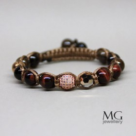 Гривна Shamballa Bronze Sunset