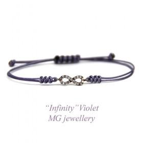 Амулет Infinity Violet